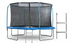 Батут 10 футов (305 см) с внутренней сеткой, держателями и лестницей