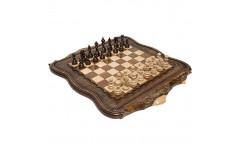 Шахматы + Нарды резные Арарат 2, 60 Ohanyan