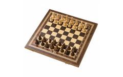 Шахматы инкрустация 50 AZ105 Zeynalyan
