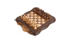 Шахматы + Нарды резные Арарат 30 Ohanyan