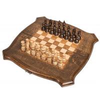 Шахматы + Нарды резные 40 Ohanyan