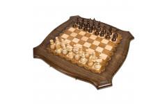 Шахматы + Нарды резные 60 Ohanyan