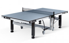 Теннисный стол складной профессиональный CORNILLEAU COMPETITION 740 ITTF (серый)