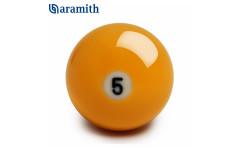 Шар Aramith Premier Pyramid №5 ø68ММ желтый