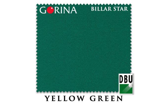 Сукно Gorina Billar Star 197см Yellow Green