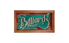 Зеркальное панно Billiards 69x38см