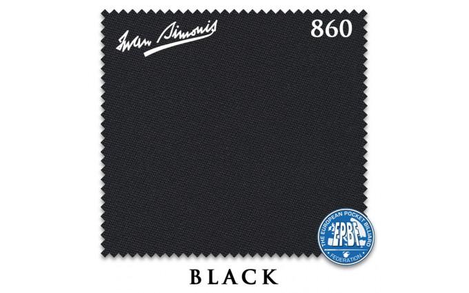 Сукно Iwan Simonis 860 198см Black