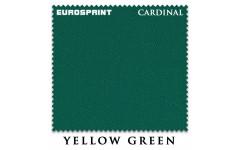 Сукно Eurosprint Cardinal 165см Yellow Green