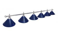 Светильник Prestige Silver Blue 6 плафонов