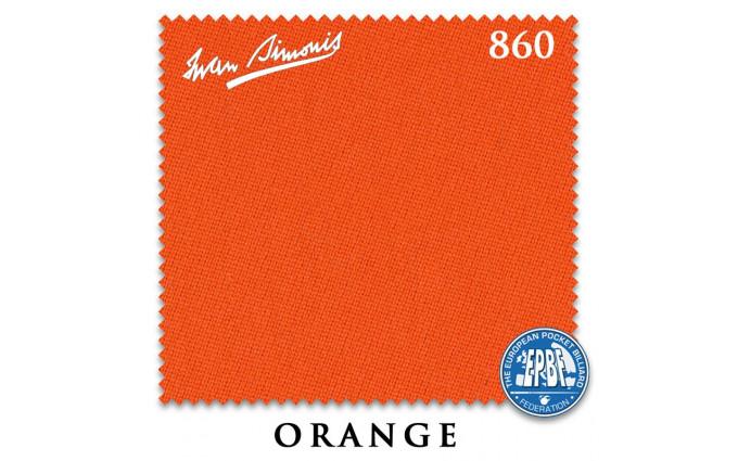 Сукно Iwan Simonis 860 198см Orange
