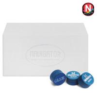 Наклейка для кия Navigator Blue Impact Snooker ø11мм Medium 1шт.