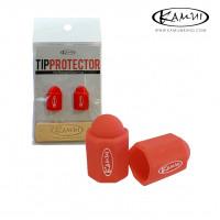 Набор для защиты бильярдной наклейки Kamui Tip Protector + Tip Burnisher ø11.5-13мм красный 1 шт.