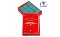 Мел National Tournament Chalk Green 12шт