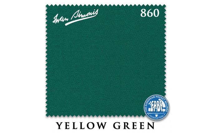 Сукно Iwan Simonis 860 198см Yellow Green