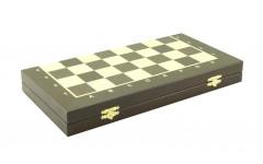 Шахматный ларец складной венге,50 мм