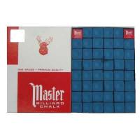 Мел «Master» (144 шт) синий