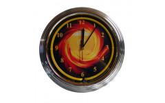 Часы настенные «NBU-3» (неон) D35см